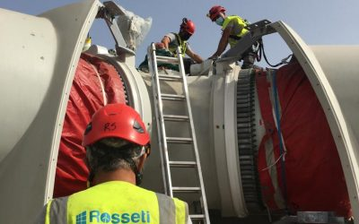 Rosseti starts wind project in the Canaries – Spain