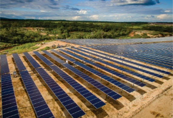 Rosseti Engenharia in the construction of the biggest photovoltaic solar park in Europe
